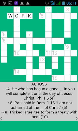 Bible Crossword apktram screenshots 3
