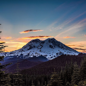Mount Rainier. by Dale Slater - Landscapes Mountains & Hills