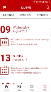 Manchester United Việt Nam Fan App - náhled