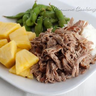 Pressure Cooker Kalua Pork.