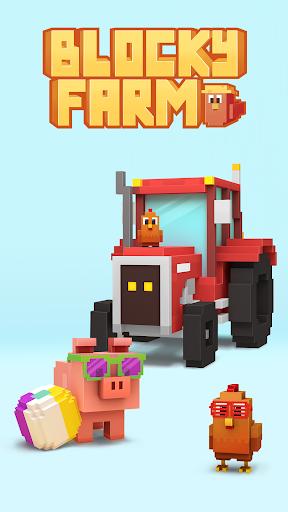 Télécharger Blocky Farm APK MOD (Astuce) screenshots 1