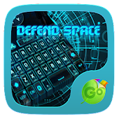 Defend Space GO Keyboard Theme
