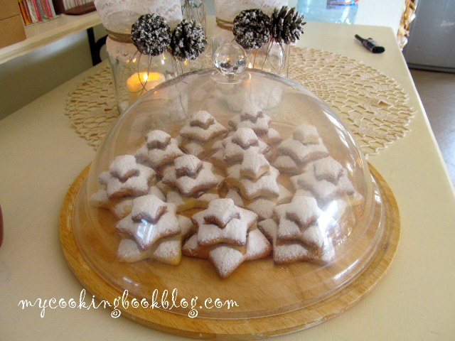 """Коледни курабии """"Звездички"""" или """"Елхички"""""""