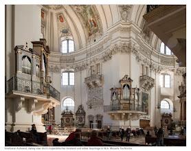 Photo: kostbarer Aufwand, dabey aber doch majestätischer Anstand und edles Gepränge in W.A. Mozarts Taufkirche