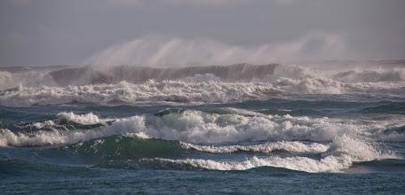 Photo: Un poquito de surf? Como debería estar el agua!