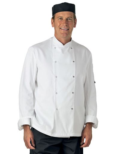 Dennys Long Sleeve Chef's Jacket
