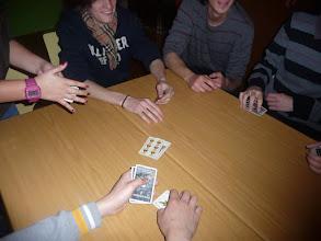 """Photo: Sessió de jocs de l'INS Marina: totes les nacionalitats jugant al """"burro"""""""
