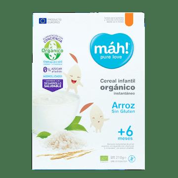 Cereal Infantil Máh Arroz Orgánico 210g