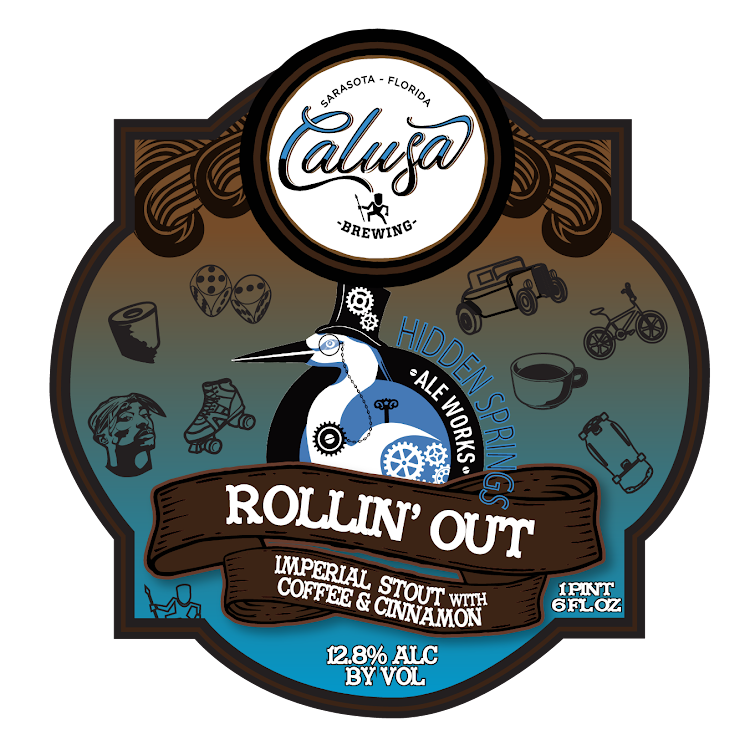 Logo of Calusa Rollin' Out