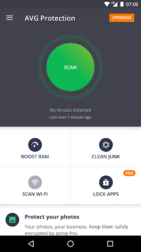 AVG Protection for Xperia™ screenshot 1