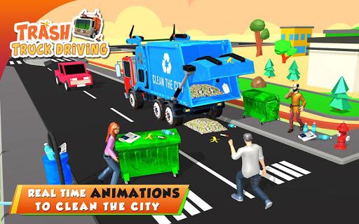Urban Garbage Truck Driving - Waste Transporter 1 screenshots 11