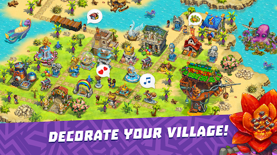 The Tribez Build a Village Apk Mod Dinheiro Infinito 7