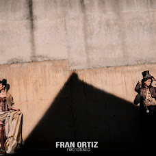 Wedding photographer Fran Ortiz (franortiz). Photo of 01.09.2018