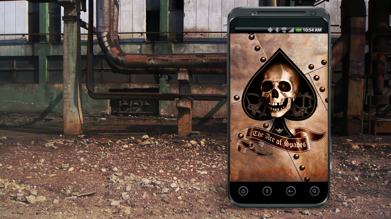 Steampunk Live Wallpaper- screenshot