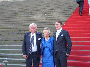 Photo: Fürst Franz Alexander, Fürstin Christine and 