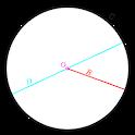 Circle Calculator -Find area, circumference & more icon