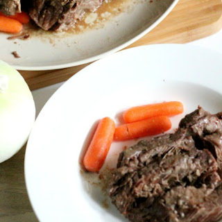 Easy 2 Ingredient Crock Pot Roast