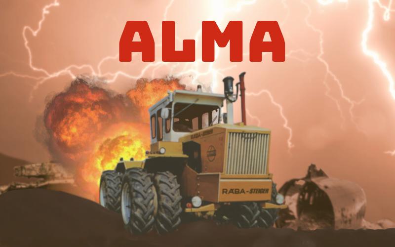 Скриншот Alma