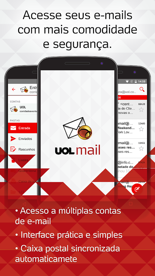 UOL Mail- screenshot