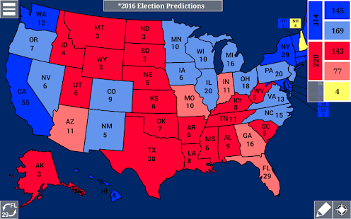 US 270 Free Android Apps On Google Play - Us Map Polls Blue And Red