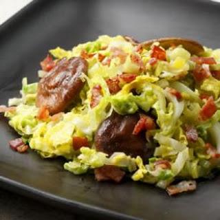 Chicken Cabbage Mushrooms Recipes
