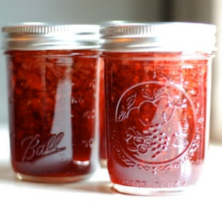 Strawberry Balsamic Thyme Jam Recipe