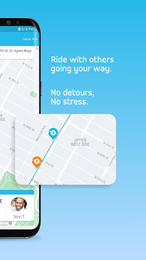 Via - Affordable Ride-sharing  screenshots 3