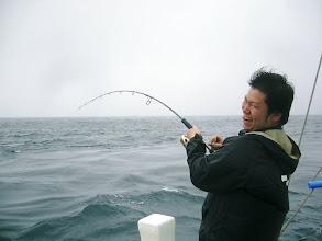 "Photo: キター! こちらも初乗船の""ハマグチさん"""