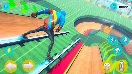 Sky Roller Skate Stunts Racing u2013 Impossible Tracks android2mod screenshots 11