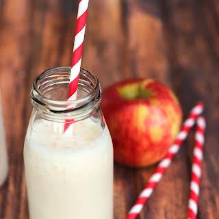Caramel Apple Smoothie.