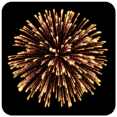 Simple fireworks