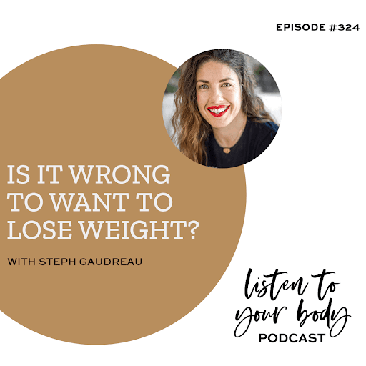 Is It Wrong To Want To Lose Weight?