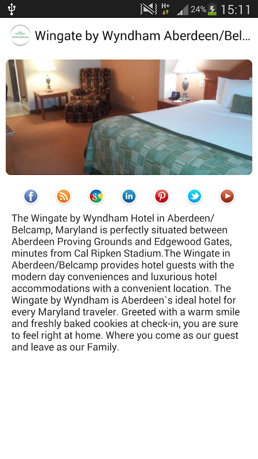 Wingate by Wyndham Aberdeen- screenshot