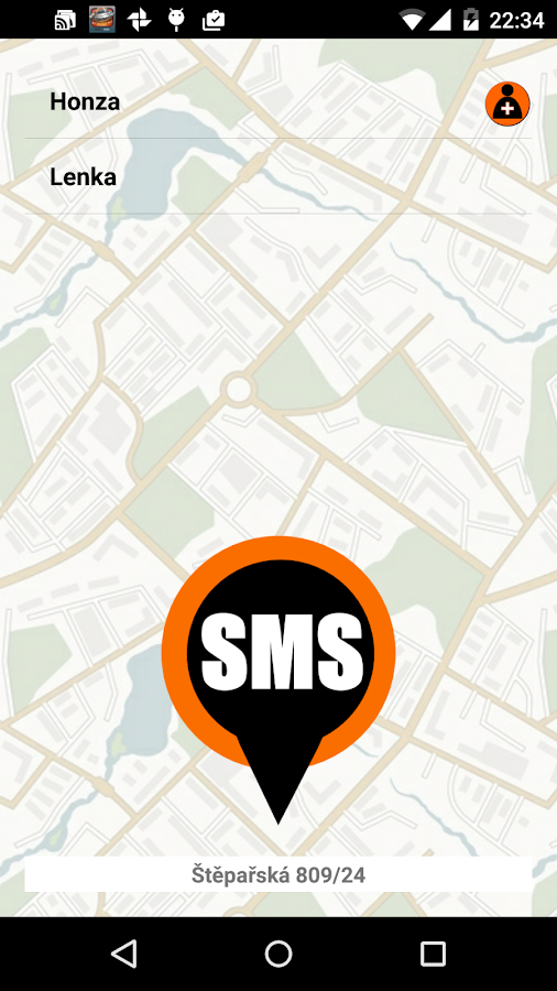 I am here SMS- screenshot