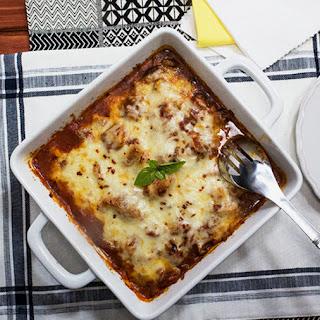 Italian Cauliflower Marinara Bake Recipe
