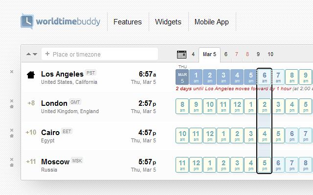 World time buddy chrome web store powerful time converter world clock gumiabroncs Choice Image