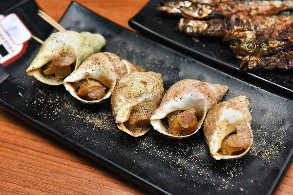 N訪柒串燒屋長安總店,平價高CP值三種風味百吃不膩,必吃超肥美尚青現烤海鮮!