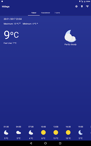 Meteo 2.0.8 screenshots 5