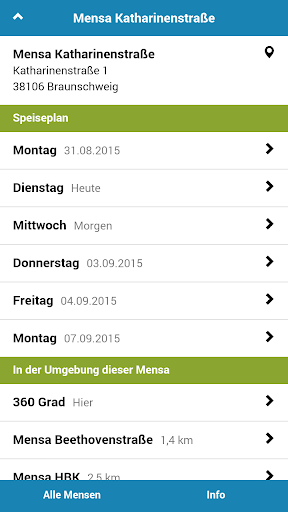 Mensa Braunschweig