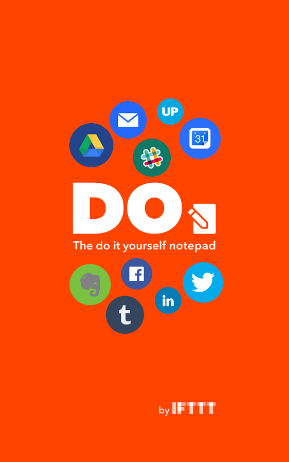 DO Note by IFTTT- screenshot