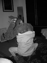 Photo: Kotsi (my host brother) being Kotsi!