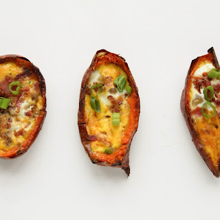 Breakfast Potato Skins.