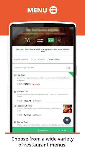 foodpanda: Food Order Delivery 2.5.2 screenshots 4