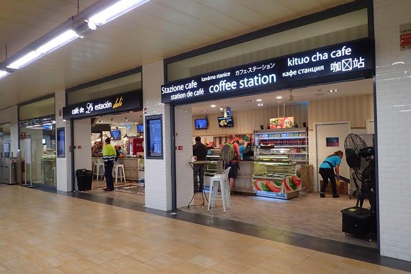 Cafe de la Estacion at Madrid Chamartin Station