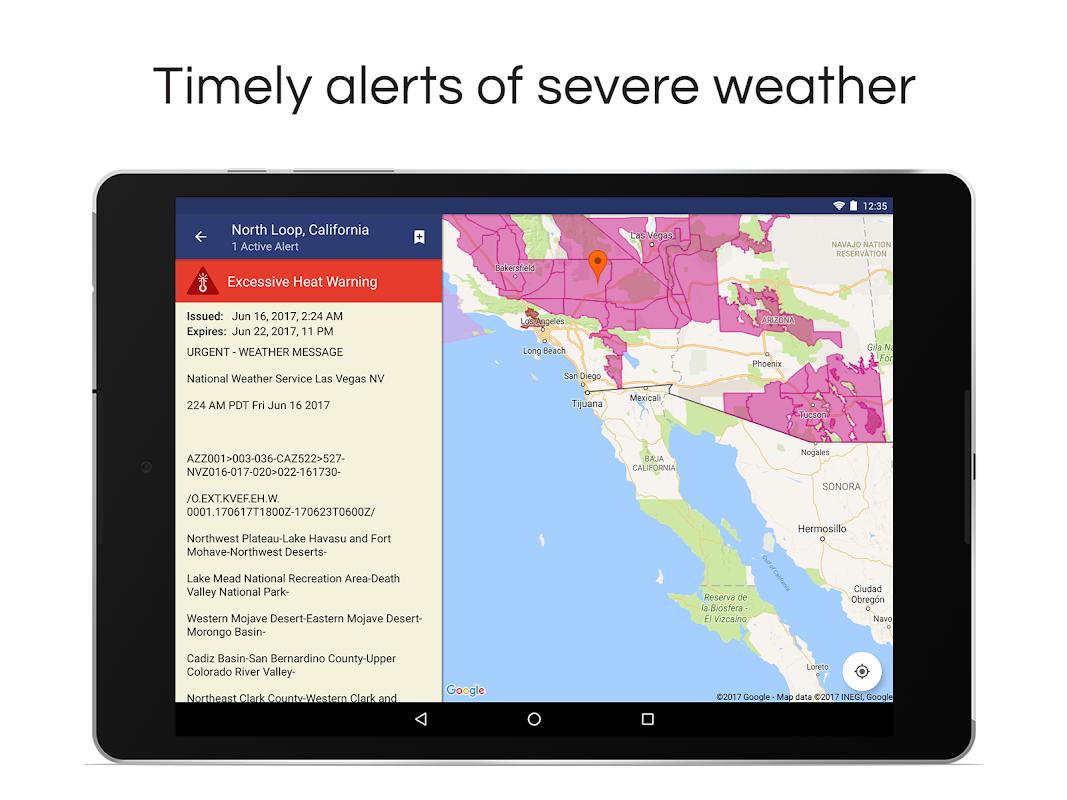 NOAA Weather Radar Live & Alerts screenshots