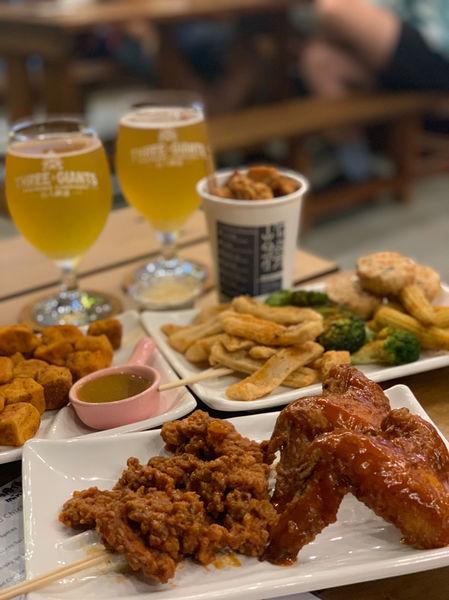 巨人精釀×炸務台南 3 Giants Brewery × Fry Forward Tainan