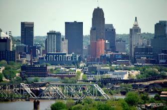 Photo: Cincinnati from Devue Park, KY