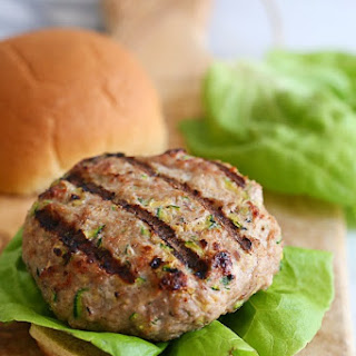 Turkey Burgers with Zucchini Recipe