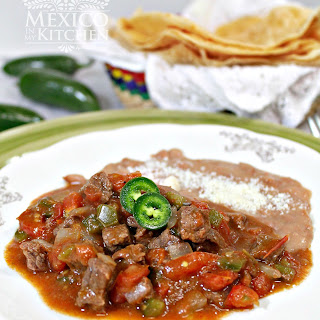 A Beef Stew to serve with flour tortillas