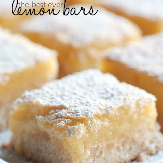 No Bake Lemon Bars Recipes.